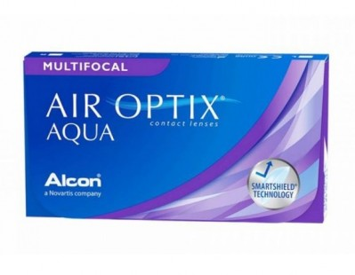 линзы Air Optix Aqua Multifocal (3 шт.)