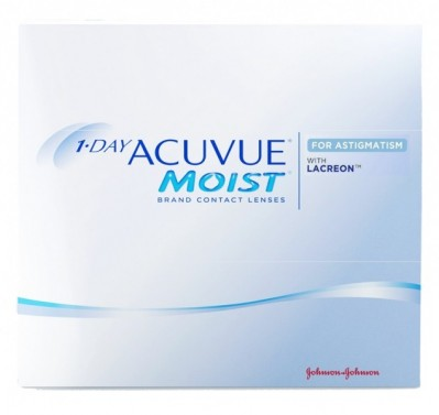 линзы 1-Day Acuvue Moist For Astigmatism (90 шт.)