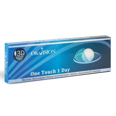 линзы OKVision One Touch 1 Day (30 шт.)