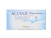 контактные линзы Acuvue Oasys with Hydraclear Plus (3 шт.)