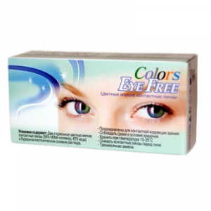 контактные линзы Eye Free Colors Crazy 2 шт.