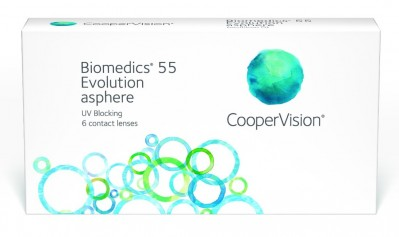 линзы Biomedics 55 Evolution (6 шт.)