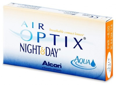 линзы Air Optix Night & Day Aqua (3 шт.)