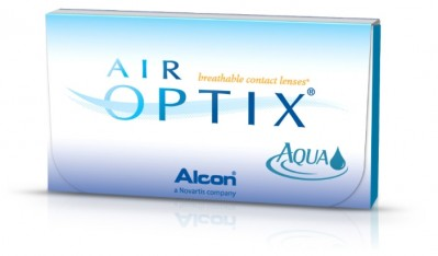 линзы AIR OPTIX Aqua (3 шт.)