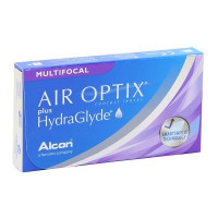 линзы Air Optix plus HydraGlyde Multifocal (3 шт.)